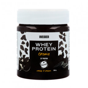 Crema de Chocolate Weider Whey Protein Cookies & Cream Spread 250g