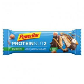 PowerBar Protein Nut2 chocolate ao leite e avelãs 45g