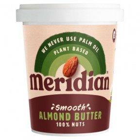 Beurre d'amande crémeux Meridian smooth 454g