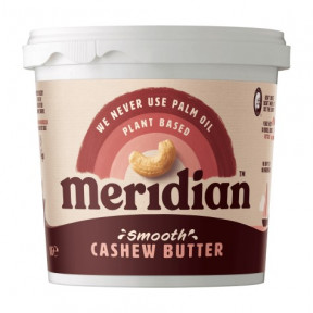 Mantequilla de Anacardo suave Meridian 1 kg