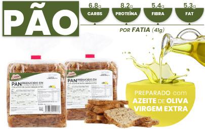 Pão e proteínas com baixo teor de carboidratos e alta fibra da CSC Foods, Cocinar sin Carbohidratos.